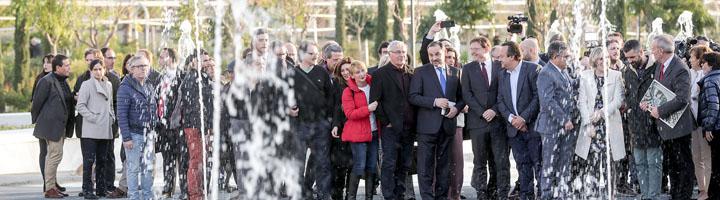 El Parque Central de Valencia abre al publico las primeras 11 hectareas