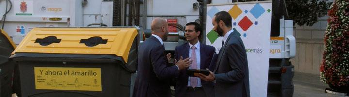 Ferrovial Servicios y el Ayuntamiento de Granada implantan un proyecto de recogida dinámica de residuos urbanos