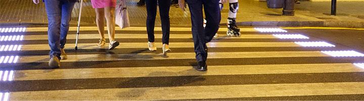 El primer paso de peatones inteligente de Málaga se emplaza en la zona del SOHO