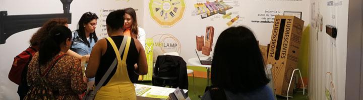 AMBILAMP y AMBIAFME fomentan el reciclaje en TECMA 2018