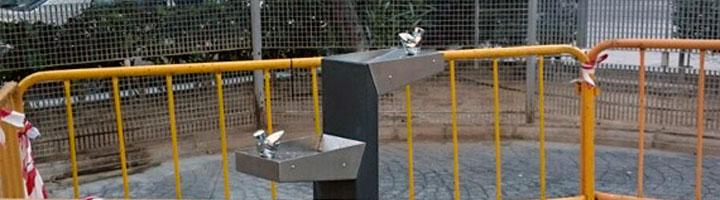 Paterna mejora la accesibilidad e instala una fuente adaptada para discapacitados en el parque del Bigotes