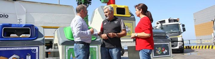 Adeje incorpora nuevos vehículo a la recogida de residuos e instalará cerca de mil nuevos contenedores