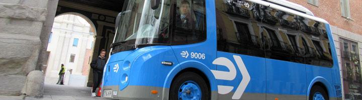 Madrid pone en servicio nuevos minibuses eléctricos