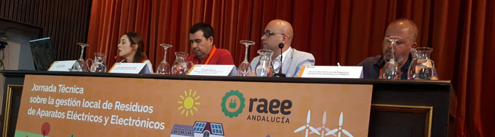 Los ayuntamientos que reciclan en 5 fracciones diferentes los residuos eléctricos y electrónicos reciben 97 euros por tonelada
