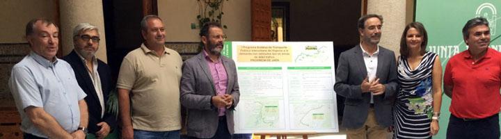 La Junta de Andalucía pone en marcha el I Programa de transporte público a la demanda en zonas rurales