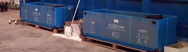 ECOLUM inicia un proceso de licitación con el objetivo de captar residuos de lámparas y luminarias para el año 2019