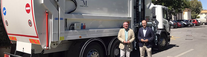 La Diputación de Málaga aumenta la flota de vehículos del Consorcio de RSU para mejorar la recogida de residuos