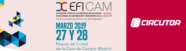 CIRCUTOR mostrará sus novedades en EFICAM 2019