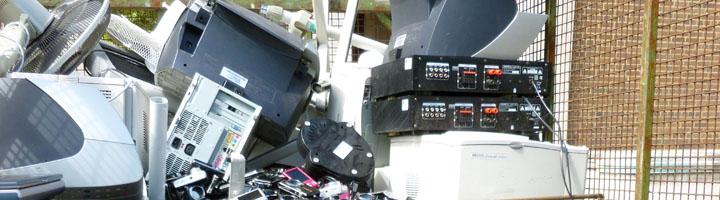 Andalucía puso a la venta 121.000 Tn de aparatos electrónicos de las cuales 43.000 fueron recogida por los ayuntamientos