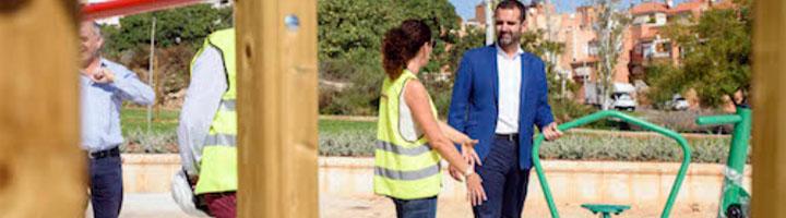 Almería estrena nuevas zonas de juegos infantiles, dos parques biosaludables y la renovación integral de 9.000 m2 de zona verde