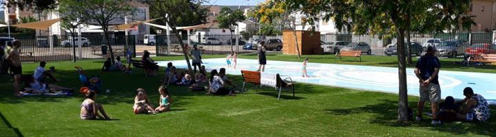 Calviá inaugura el nuevo Splashpark de Son Ferrer