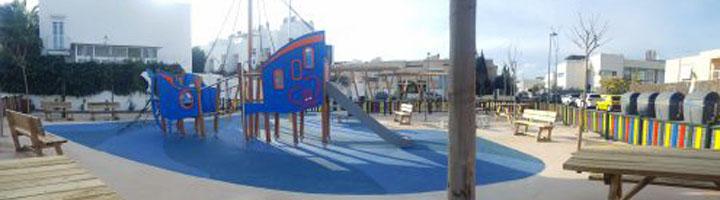 Ibiza inaugura el nuevo parque infantil del barrio de Illa Plana