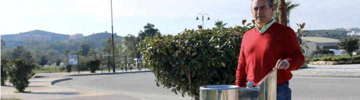 Mijas instala varias fuentes mixtas para el uso de viandantes y sus mascotas en el núcleo de Las Lagunas