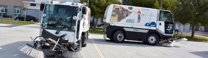 Elda pone en funcionamiento los nuevos vehículos de limpieza viaria