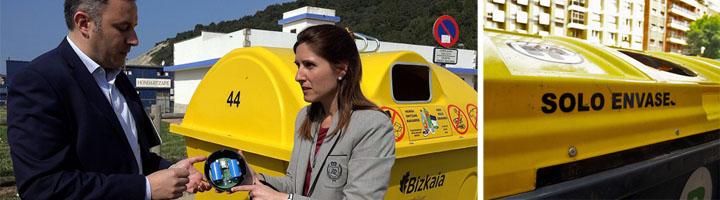 La Diputación Foral de Bizkaia coloca sensores en 10 contenedores para recoger datos de su uso