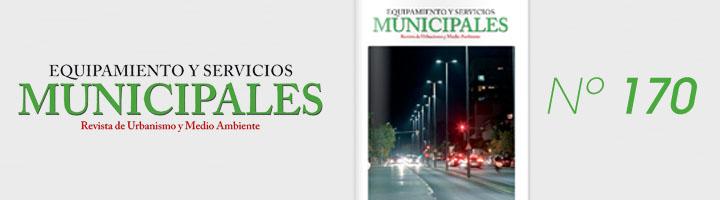 Ya disponible la edición nº 170 de Equipamiento y Servicios Municipales