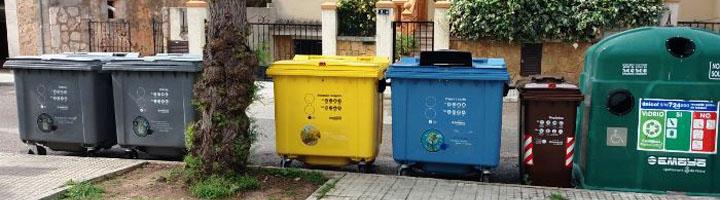 EMAYA renueva los contenedores de Son Sardina e incorpora 23 nuevos contenedores para la materia orgánica
