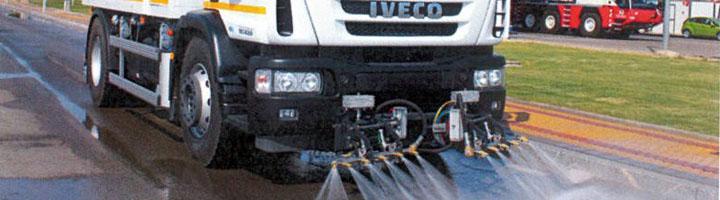 LYMA incorpora las tareas de baldeo a la limpieza viaria de Getafe