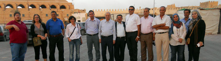 La ciudad tunecina de Sfax celebra la tercera reunión de trabajo del proyecto SMOT