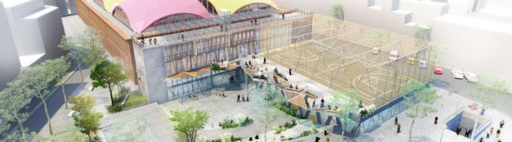 La Plaza de la Cebada de Madrid recuperará su polideportivo y el espacio público para la ciudadanía