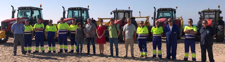 La Diputación de Valencia presenta la nueva campaña de limpieza de playas que recorrerá 15 municipios durante todo el verano