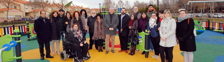 Illescas cuenta con un parque adaptado a menores con movilidad reducida