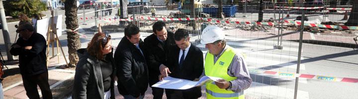 Marbella mejorará la accesibilidad y la movilidad en Puerto Banús con la creación de un carril bici en la avenida Julio Iglesias