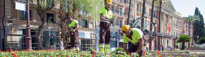 Murcia da luz verde al contrato de servicio de mantenimiento de parques y jardines