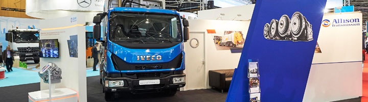 Allison presenta en Pollutec el camión de gama media para recogida de residuos más pequeño de Francia propulsado por GNC