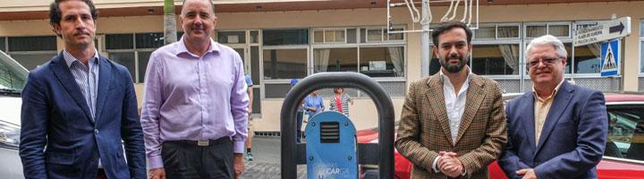 El Puerto de la Cruz cuenta ya con el nuevo punto de recarga para vehículos eléctricos