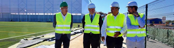 León pone en servicio más de 35 hectáreas del complejo deportivo y ocio Olímpico de León