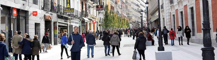 Madrid renueva la imagen de la calle Carretas con el peatón como protagonista