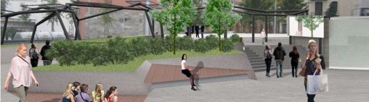 La plaza Joan Pelegrí de Barcelona tendrá una nueva imagen completamente renovada