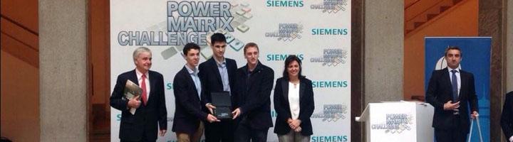 Un equipo de la Universidad de Comillas gana el Power Matrix Challenge de Siemens