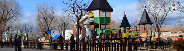 Nueva área infantil HAGS en el distrito madrileño de Usera