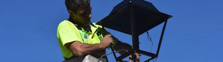 Villaviciosa de Odón comienza un proyecto de renovación del alumbrado público que supondrá un ahorro energético del 72%