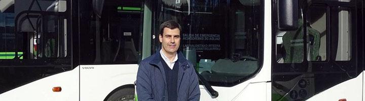 Bizkaibus incorpora nuevos vehículos híbridos que garantizan la accesibilidad mediante dos rampas independientes entre sí