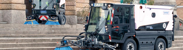 Aebi-Schmidt, líder europeo en equipos de mantenimiento