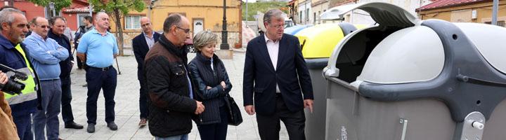 León renueva la recogida de residuos instalando 287 nuevos contenedores y 3.084 papeleras en la ciudad
