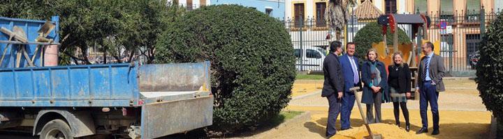 Sevilla acomete una renovación integral de la zona infantil de los Jardines de Murillo