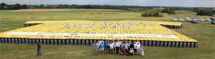 La región francesa de Vendée vista desde el cielo con 3.376 contenedores para residuos de CONTENUR
