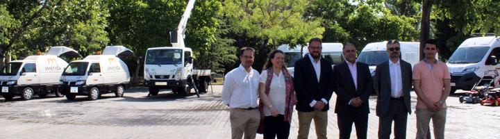 Mérida presenta la nueva maquinaria de limpieza, recogida y mantenimiento, con una inversión de 1,5 millones de euros
