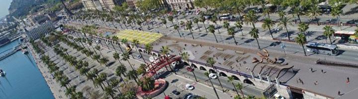 Barcelona reformará la Balconada con nuevos espacios de ocio y usos vecinales para el nuevo frente marítimo del Gòtic