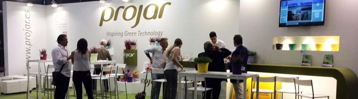 El concepto de naturalización y habitabilidad de las ciudades centra la presencia de Grupo Projar en Iberflora