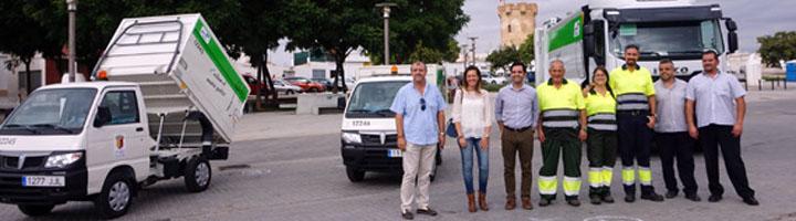 Paterna renueva la flota de vehículos destinados al servicio de limpieza y recogida de residuos