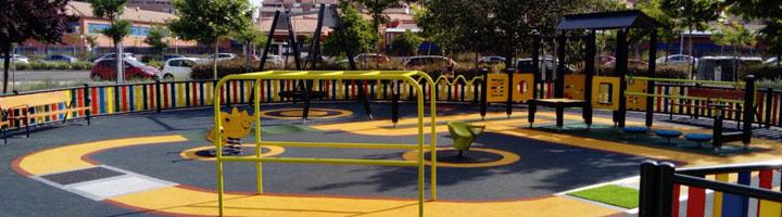 Madrid estrena un área infantil inclusiva en el distrito de Hortaleza