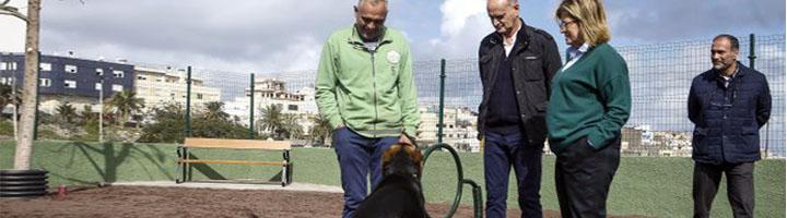 Las Palmas de Gran Canaria concluye el nuevo parque canino en Las Torres, incluido en los Presupuestos Participativos 2018