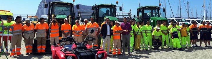 La inversión realizada La Linea para el acondicionamiento de playas esta temporada supera los 160.000 euros