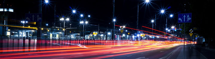 El 90% del alumbrado en carreteras españolas es deficiente