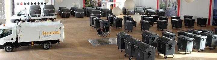 Estepona refuerza el servicio de recogida de residuos con la adquisición de 300 nuevos contenedores